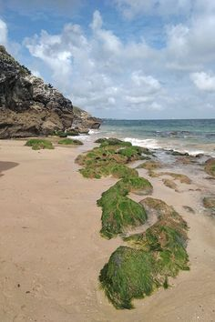 Plage, mer, roche, Belle-Île-en-Mer