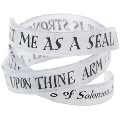 """Word Bangle - """"Set me as a seal upon thine heart, as a seal upon thine arm: for love is strong as death"""" - Song of Solomon 8:6"""