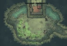 The Cavern Alchemy Lab, a battle map for D&D / Dungeons & Dragons…