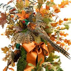 Creative Collection: Pheasant Tree Topper