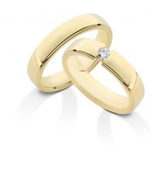 Desiree ringen in geelgoud.