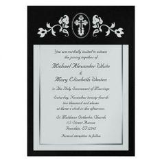 Wedding Invitations Diy Handmade, Elegant Wedding Invitations, Custom Invitations, Orthodox Wedding, Bella Wedding, Toned Paper, Ceremony Programs, Specialty Paper, White Envelopes