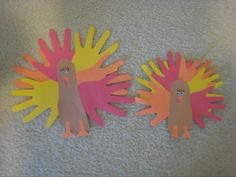turkey hand and foot print craft