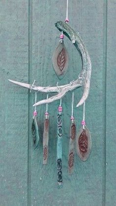 Modern Industrial Home Decor Deer Antler Chime from Etsy
