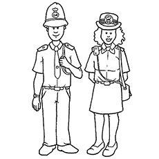 law enforcement coloring pages - photo#24