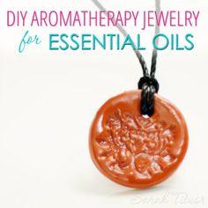 Easy Crafts To Make and Sell - Aromatherapy Jewelry For Essential Oils - Cool Homemade Craft Projects You Can Sell On Etsy, at Craft Fairs, Online and in Stores. Quick and Cheap DIY Ideas that Adults and Even Teens Easy Diy Gifts, Crafts To Make And Sell, Crafts For Kids, Teen Crafts, Diy Crafts, Aromatherapy Jewelry, Martha Stewart Crafts, Homemade Crafts, Homemade Soaps