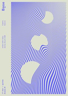 cool optical poster. graphic design.