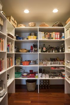 13. Walk-in pantry (80%) via @AOL_Lifestyle Read more: http://www.aol.com/article/2016/06/28/painting-your-kitchen-one-color-boosts-value-by-1k/21421132/?a_dgi=aolshare_pinterest#fullscreen