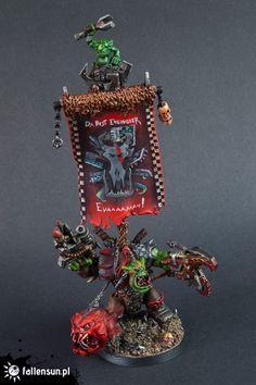 Warhammer 40k | Orks | Ork Warboss with Squigg #warhammer #40k #40000 #wh40k…