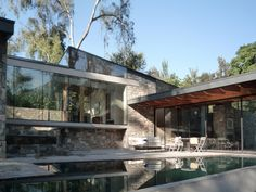 Transparent House in Lo Curro, Santiago, Chile / Schmidt Arquitectos Asociados
