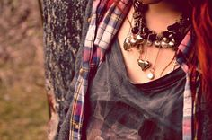 Boho necklace / accessories