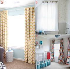 DIY Curtain Projects