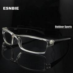 e09f7f0d5d ESNBIE Mens monturas de lentes hombre Prescription Glasses TR90 Flexible  Eyeglasses Frames Men 6 Base oculos