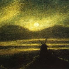Ryder, Old Mill by Moonlight 1885