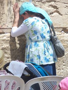 Western Wall in Israel.  One of my most treasured memories is praying here.