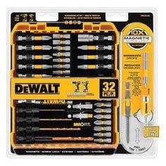 Juego de brocas y puntas para destornillador DWA2SLS32 DeWalt