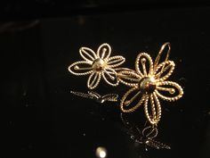 Flowers (yellow gold 585/000)
