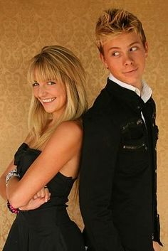 Awww this pic of Rydel and Riker!! Too cute. There soo young