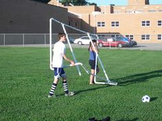 backyard fun backyard diy backyard mayhem soccer goals diy outdoor