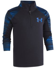 Under Armour Speed Lines Quarter-Zip Top, Toddler & Little Boys (2T-7) - Little Boys 2T-7 - Kids & Baby - Macy's