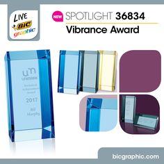Vibrance Award #jaffa #awardsandrecognition #livebicgraphic