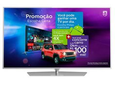 "Smart TV LED 50"" Philips 50PUG6700/78 Ultra HD 4K 3 HDMI 3 USB Android TV Dual Core << R$ 259999 em 8 vezes >>"