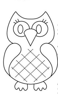 Christmas Cut Out Templates – Halloween & Holidays Wizard Owl Templates, Applique Templates, Applique Patterns, Applique Designs, Quilt Patterns, Owl Applique, Patch Aplique, Owl Crafts, Owl Patterns