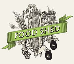 Food Shed Corporate Identity by Ben Grib Egg Packaging, Packaging Design, Branding Design, Logo Fruit, Fs Logo, Illustration Example, South African Recipes, Farm Stand, Great Logos