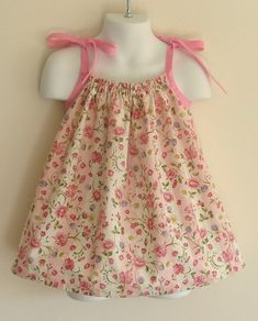 Cute Ideas For Pillowcase Dresses : Pillowcase Dress Tutorial. These are so cute and easy to make! I wish I had a little girl ...