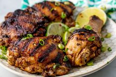 Jerk Chicken Will Bring Tears Of JoyDelish Grilling Recipes, Meat Recipes, Low Carb Recipes, Chicken Recipes, Dinner Recipes, Cooking Recipes, Healthy Recipes, Dinner Ideas, Healthy Food