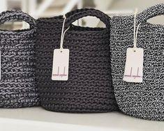 Tote Bag Scandinavian Style Crochet Tote Bag Handmade Bag Knitted Handbag Gift for Her OLIVE color Tote Bag scandinavo stile Crochet Tote Bag regalo a mano borsa Crochet bag made of polyester. Crochet Shell Stitch, Crochet Tote, Crochet Handbags, Crochet Shoulder Bags, Grey Tote Bags, Diy Sac, Tote Bags Handmade, Market Bag, Knitted Bags