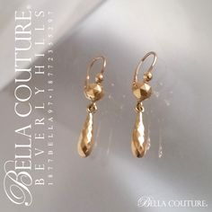 BELLA COUTURE ® - SOLD! - (ANTIQUE) RARE Georgian Victorian Gorgeous French 18K / 18CT Yellow Gold Dangle Drop Lever Back Earrings - One of a Kind - Fine Jewelry Jewellery, $189.00 (http://www.bellacouture.com/sold-antique-rare-georgian-victorian-gorgeous-french-18k-18ct-yellow-gold-dangle-drop-lever-back-earrings-one-of-a-kind-fine-jewelry-jewellery/)
