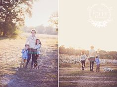 We love these shots of Chris Dixon and her beautiful little family! This sunset was the perfect backdrop for these lovely family photos!