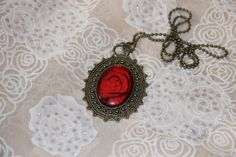Vintage gem sweater chain by yangyangDreamhouse on Etsy, $5.99
