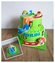 Toot Toot Drivers Cake (Toet Toet Auto's taart)
