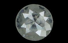 5.20 MM 0.54 Ct Natural Loose Diamond Round Rose Cut Grey Color K2758