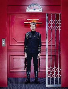 """BTS """"SICK"""" Concept Photo -- 1st member on the concept -- Rap Mon"""