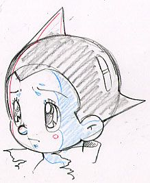 Astro Boy Sketch, i remember watching this when i was 7