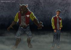Werewolfkid by Psych93
