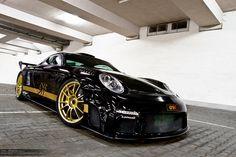 "Ultraleggera HLT 20"" on Porsche GT9R 911 Turbo by 9f"