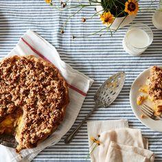 Third Generation Peach Pie recipe on Food52 | Add crumb topping partway through baking!