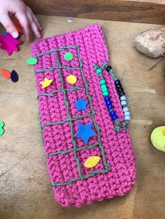 In March I'd bought some yarn and was looking up crochet patterns. I came across fiddle mats for people with dementia. Number Patterns, Learn To Count, Play Mats, Math Math, Toddler Play, Homeschool Math, It Gets Better, Addition And Subtraction, Sensory Play