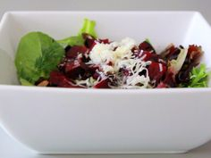 Beet and Goat Cheese Salad. I love beets!