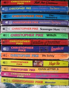 Christopher Pike Lot 13 Paperback Books Witch Monster The Party Immortal VGUC