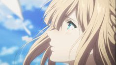 Uploaded by Naho. Find images and videos about cute, gif and anime on We Heart It - the app to get lost in what you love. Vive Video, Violet Evergarden Wallpaper, Violet Evergreen, Violet Garden, Violet Evergarden Anime, Detective Conan Wallpapers, Kyoto Animation, Identity Art, Cool Animations