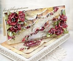 Klaudia/Kszp: Różany komplet