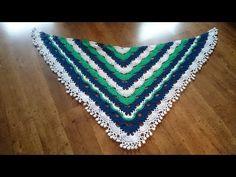 "Haken - tutorial De 'never ending story"" sjaal Crochet Blouse, Crochet Poncho, Poncho Shawl, Crochet Videos, Popular Pins, Crochet Patterns, Make It Yourself, Stitch, Youtube"