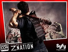Announcing the WORLD PREMIERE of the new Syfy series Z Nation at Salt Lake Comic Con 2014! Zombie lovers will NOT want to miss this special event! The Z Nation pilot screening will take place in the South Ballroom on Saturday, Sept 6 at 5:00 pm. If you miss the free screening, tune in to the television premiere Friday, Sept 12 at 10/9c on Syfy. This special screening is included with your valid Salt Lake Comic Con 2014 pass! CLICK the photo for more info.