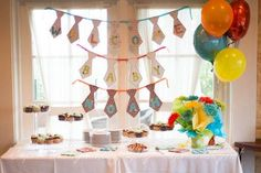 Little Man theme baby shower- bow ties and neckties in stripes and polka dots!!