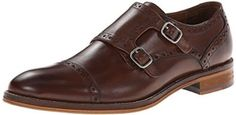 Johnston & Murphy Men's Conard Double Monk Strap Oxford: The Conard Double Monk Strap features a bondwelt construction, full leather lining, a cushioned, leather-covered footbed, and a rubber outsole. Oxford Shoes Heels, Oxfords, Men's Shoes, Comfortable Dress Shoes, Double Monk Strap Shoes, Mens Winter Boots, Italian Leather Shoes, Best Shoes For Men, Johnston Murphy